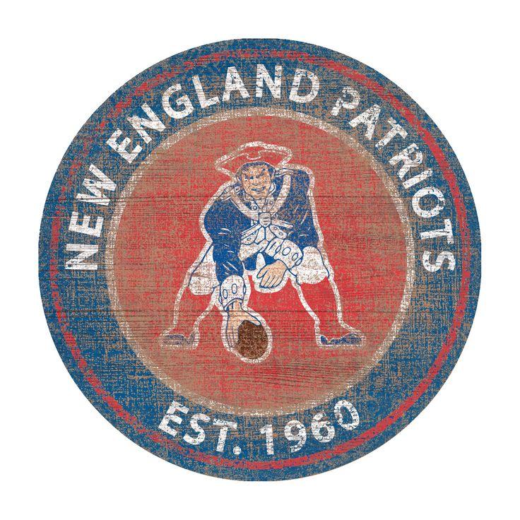 NFL New England Patriots Fan Creations Heritage Logo 24