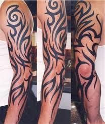 Image result for tattoo sleeve ideas tribal