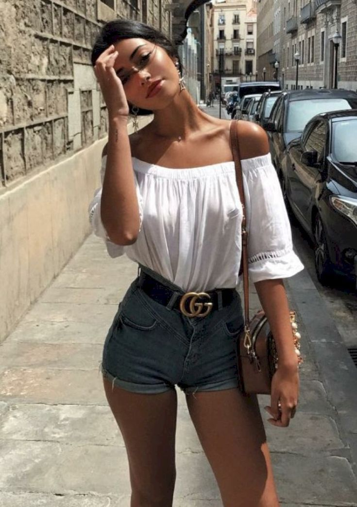 fine 31 Fashionable Summer Outfit Ideas Trending in 2018 attirepin com/ #attirepi Street style summer outfits Summer fashion outfits Casual summer outfits