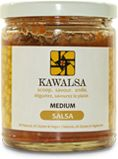 Medium  This salsa contains complex fresh flavours that you would think that it was picked from your own backyard. Roma tomatoes, hand crushe...
