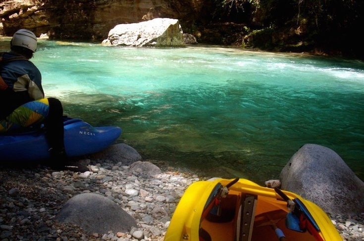 The Blue River, Argentina 30 Stunning Beaches & Lakes With The Most Crystal Clear Waters In The World • Page 3 of 6 • BoredBug