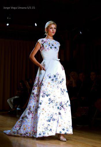 """#NYC-based fashion designer, Jorge Vega Umana's """"La Femme Magnifique"""" Spring/Summer 2015 Collection"""