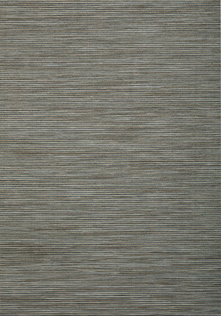 STREAM WEAVE, Navy and Brown, T72846, Collection Grasscloth Resource 4 from Thibaut