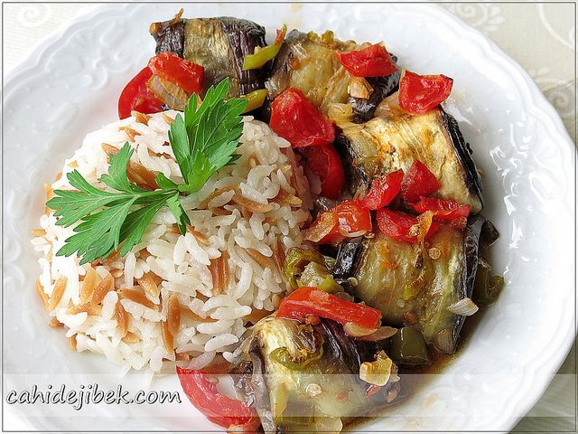 ♡ patlıcan yemeği