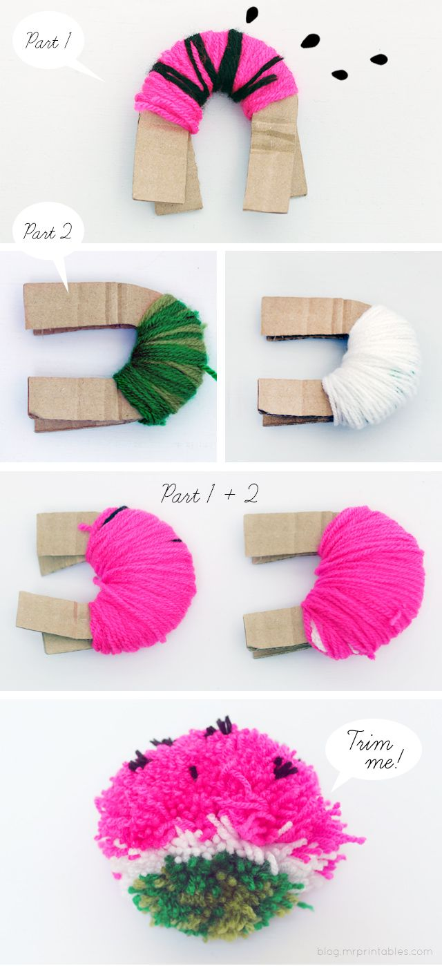 Pom Pom Fruit - Mr Printables Blog