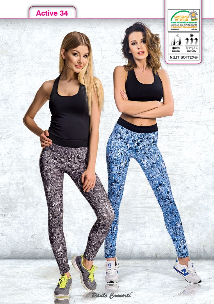 ACTIVE LINE Leggings Legginsy Paulo Connerti Seria fitness i do biegania.