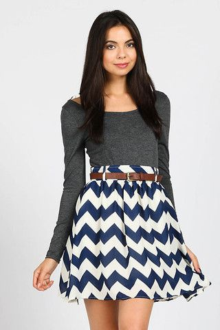 Little Miss Chevron – Bloom and Snow Boutique