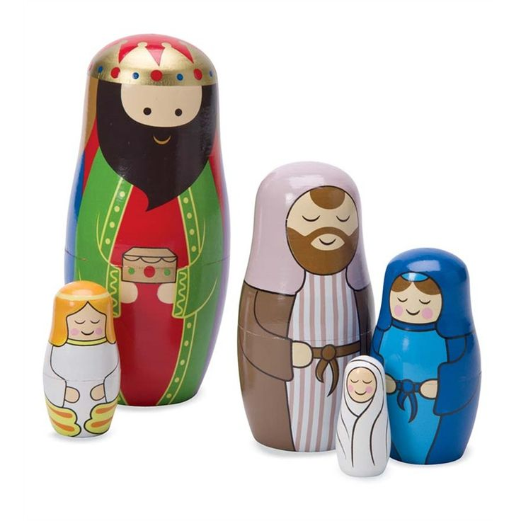 nativity nesting dolls set of 5 in look whatu0027s new for holiday