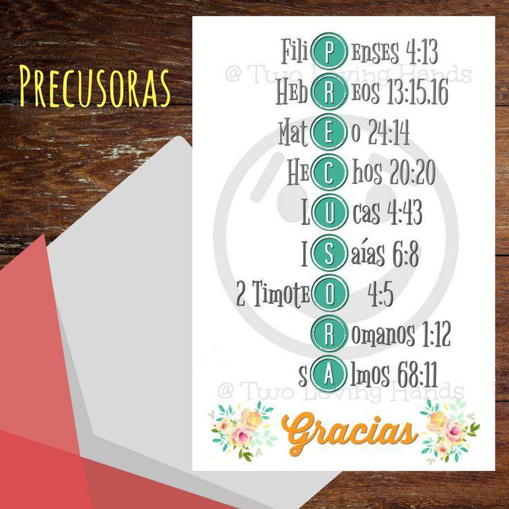 Precusora Gracias, hermanas, jw sisters, jw pioneer, jw gifts, jw, jw cards, Testigos de Jehova by twolovinghands on Etsy