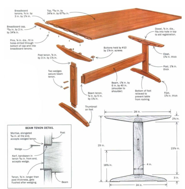 16 best furniture trestle base images on pinterest woodworking dining rooms and carpentry. Black Bedroom Furniture Sets. Home Design Ideas