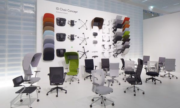 Vitra at the international Orgatec office furniture fair in Cologne last October.