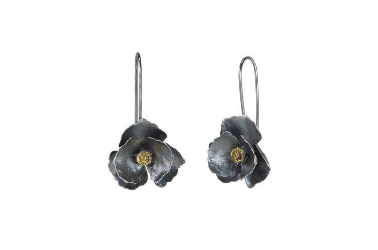 Dangle Long Flower Earrings  http://susanateixeira.pt/product/dangle-long-flower-earrings/