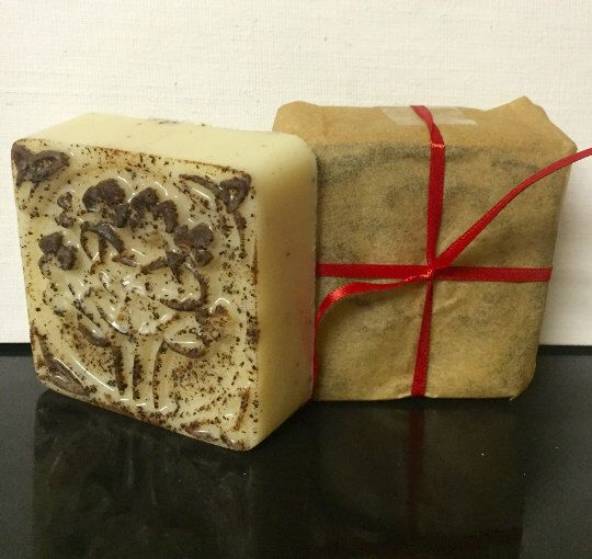 A personal favorite from my Etsy shop https://www.etsy.com/listing/499052234/samhain-spice-4-oz-three-butter-soap