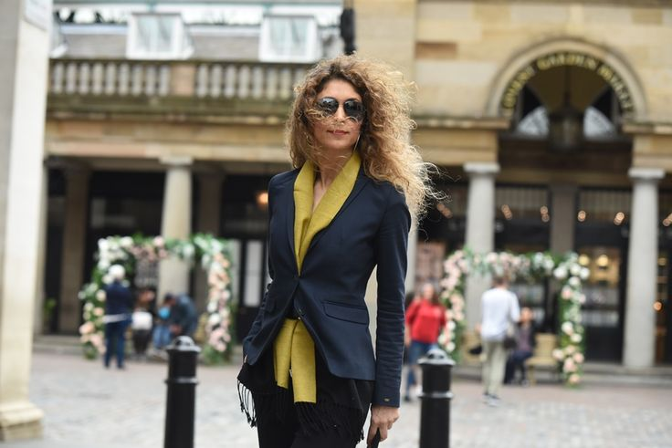 2nd DAY London Fashion Week Men's: The Man's Silk Scarf Look!