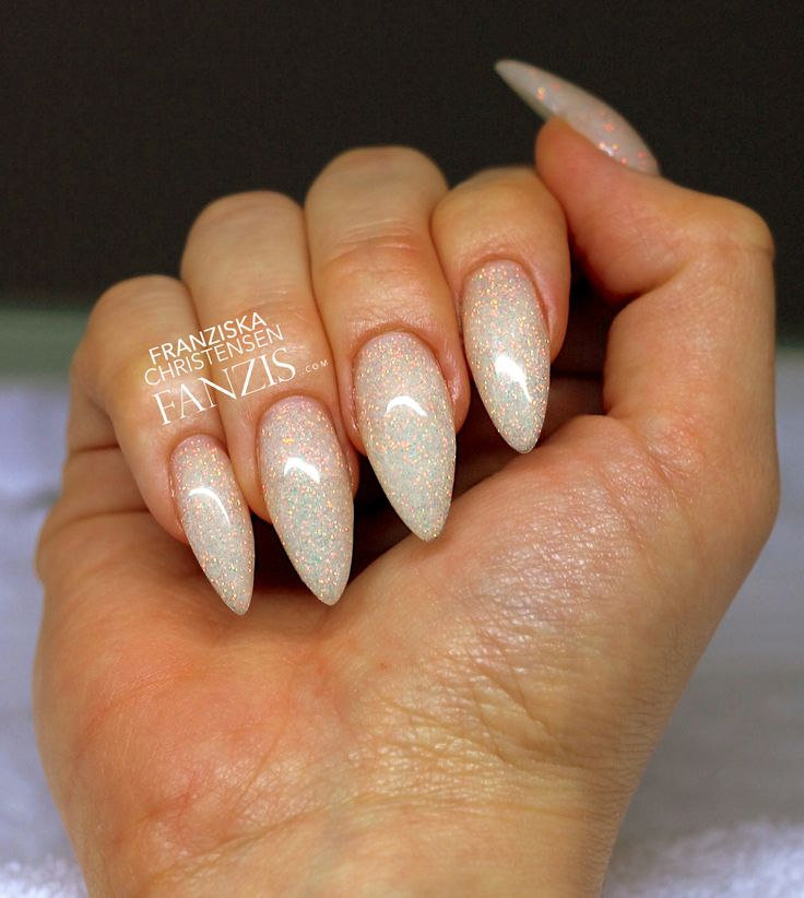 17 best ideas about white almond nails on pinterest