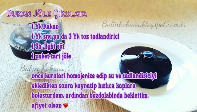 Dukan Çikolata / Jelibon Çikolata / Jöle Çikolata
