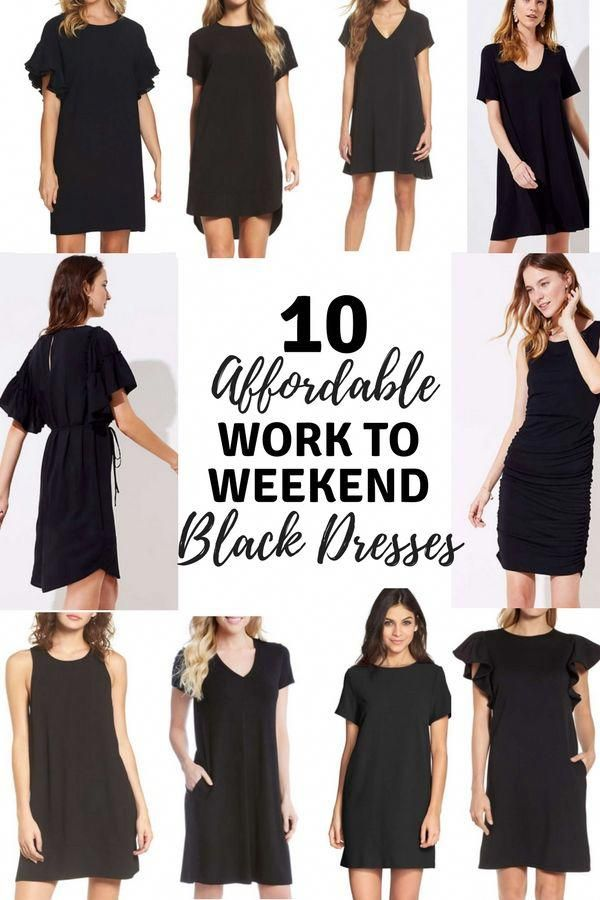 10 Affordable Dresses That You Can Take From Work To Weekend Affordablefashiontips