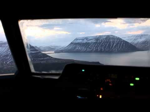 "By the band Reykjavík! - ""Hellbound Heart"" - Flight from Reykjavík to Ísafjörður (the town they are from)"