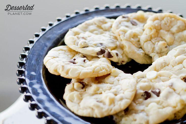 Double Chocolate Pecan Cake Mix Cookies