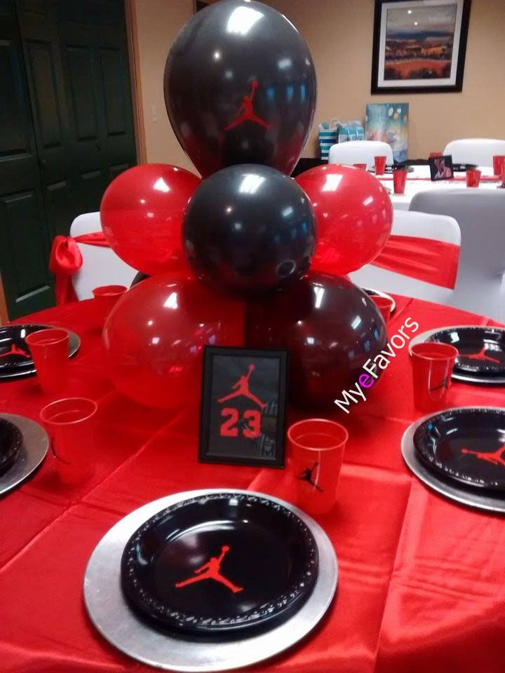33 best Jumpman Theme Party Ideas Plates Napkins Balloons Cups