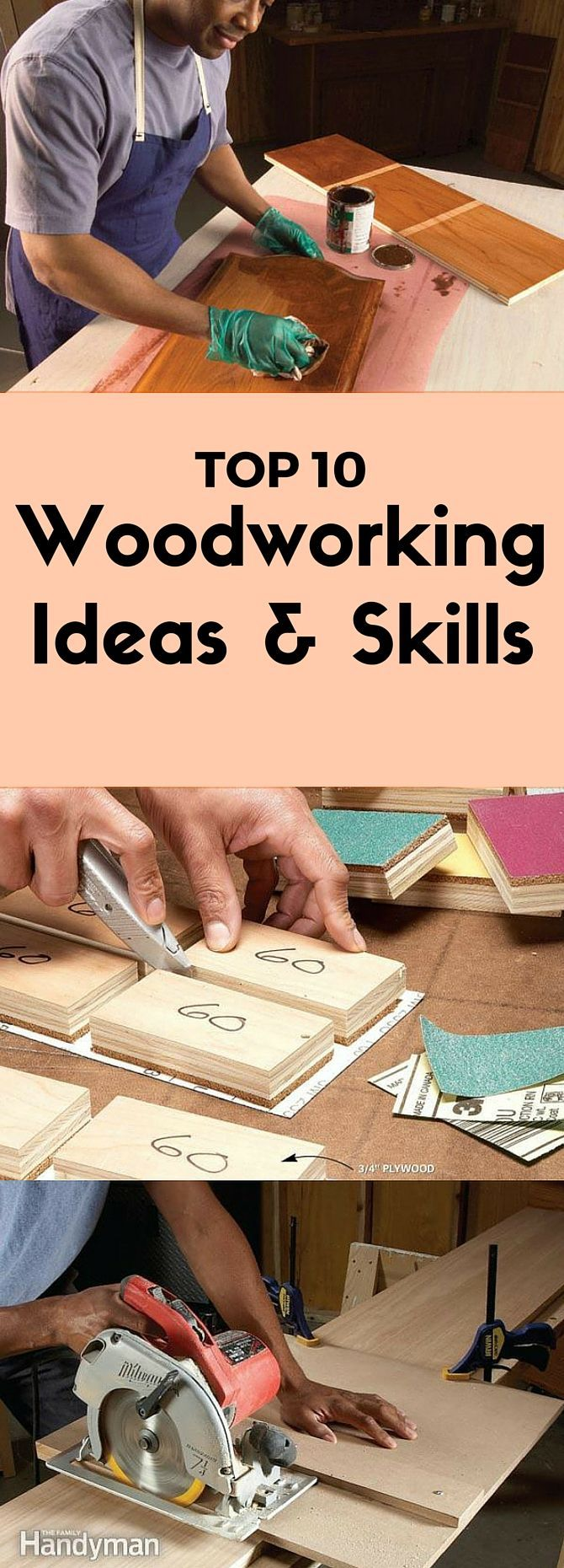 the top 10 woodworking ideas