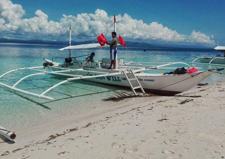 Escursione in barca a Pamilacan. Filippine