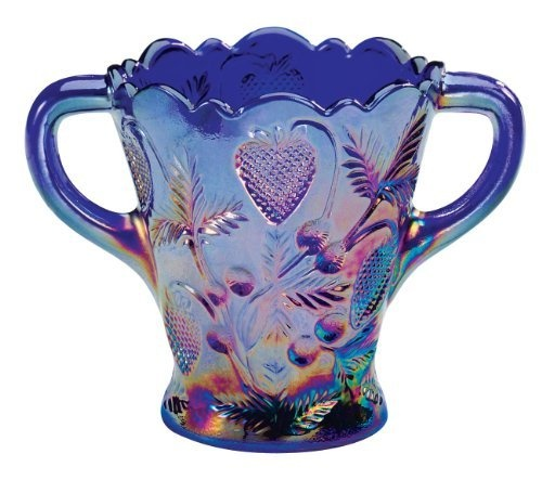 90 Best Blue Carnival Glass Collection Images On Pinterest
