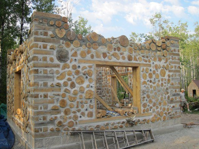 Cordwood Construction - Natural Building