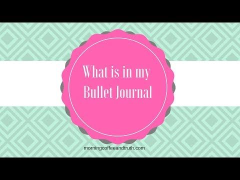 What is in My Bullet Journal: June and July Flip Through - YouTube