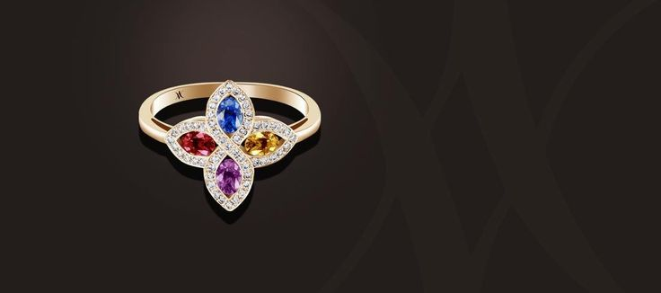 Our latest product of the Flamme collection ! It has the particularity to embrace your finger with its rounded shape to stay in simplicity and discretion. #waskoll #paris #2017 #ring #pinkgold #sapphire #simplicity
