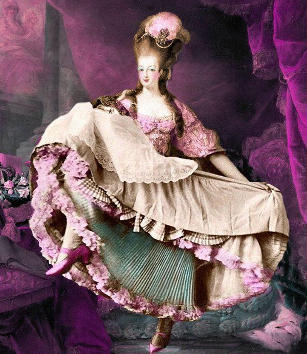 Marie Antoinette. Wigs!