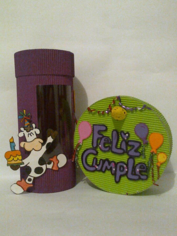 Cajas para cumpleaños..:)
