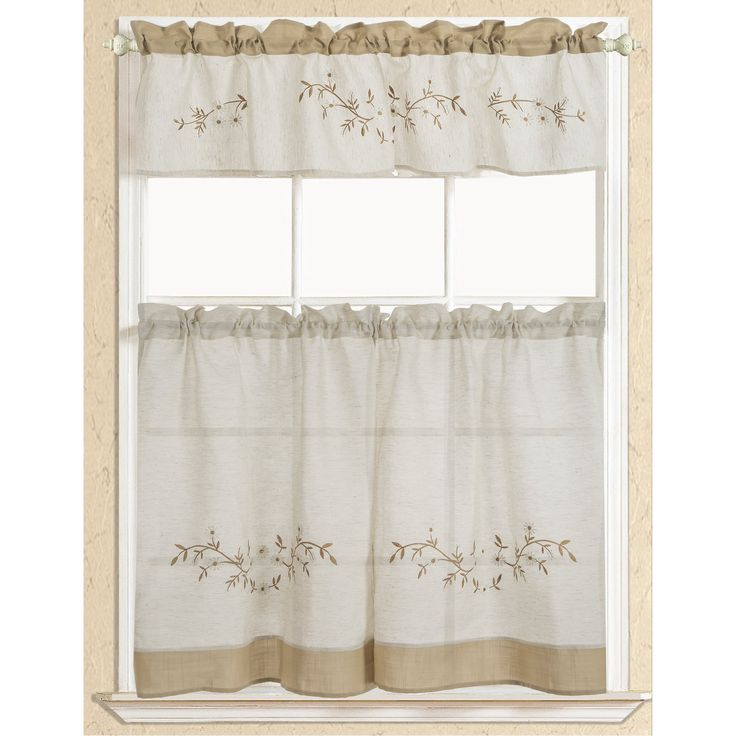 Best 25  Kitchen curtain sets ideas on Pinterest | Valances for ...