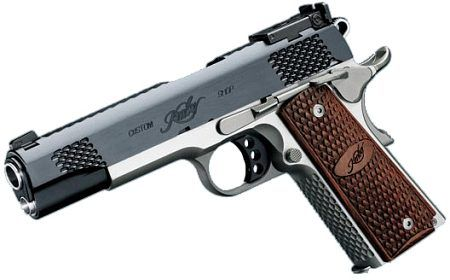 Target shooting ... Kimber 1911. Every woman should know how to use one safely and without fear ;)