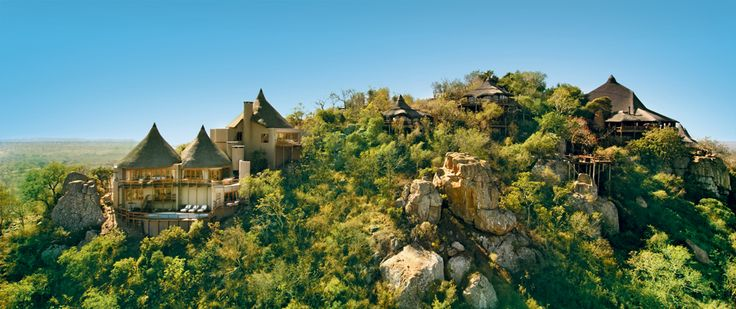 Sir Richard Branson's Private Game Reserve in the Sabi Sand reserve on the border of the Kruger National Park in South Africa.