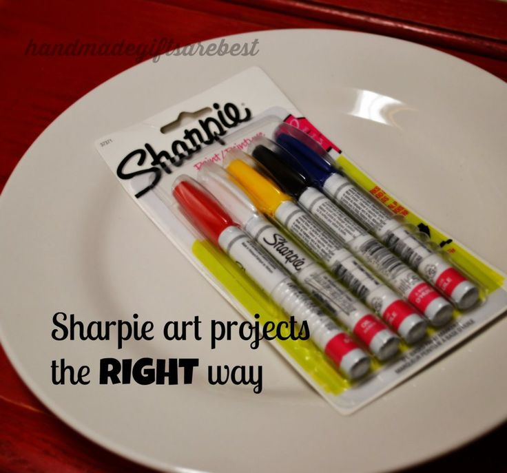 The Right way to do Sharpie Art.  Easy, inexpensive, and it won't wash off EVEN in the dishwasher.