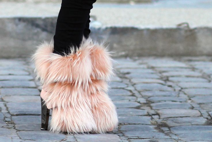 Love these furry boots