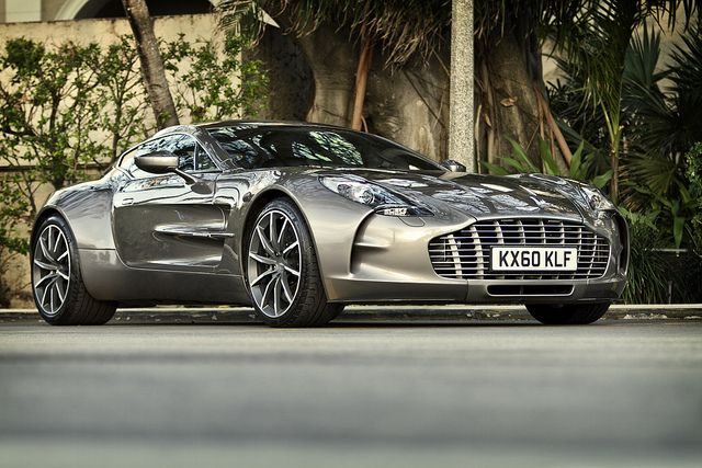 Aston Martin ONE~77...only 77 made costing a cool 1.4 mil each... More than that in a bidding war...
