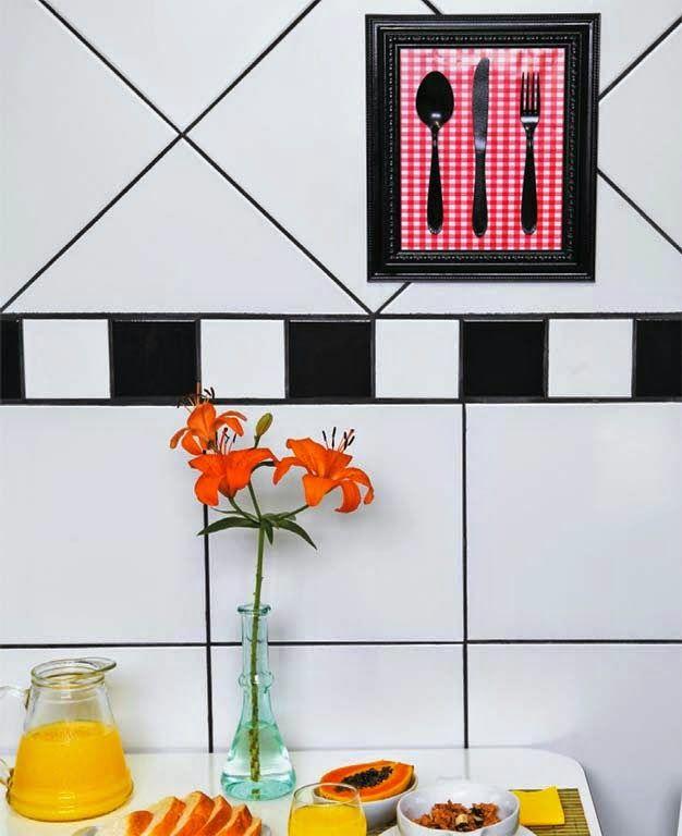 By: Mayara Camargo   Quer aprender a fazer uma decoração super bacana para a sua cozinha e sem gastar muito? A ideia de hoje é fazer um ou ...