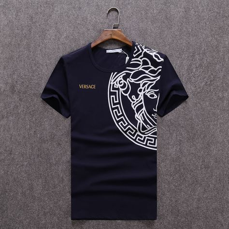 Replica Versace  T-Shirts for men #232249 express shipping to Spain,$19 USD On sale -- [GT232249] from China