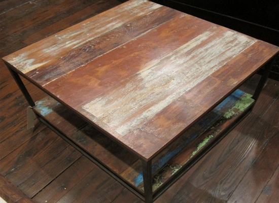 upcycled coffee table from Rajasthan