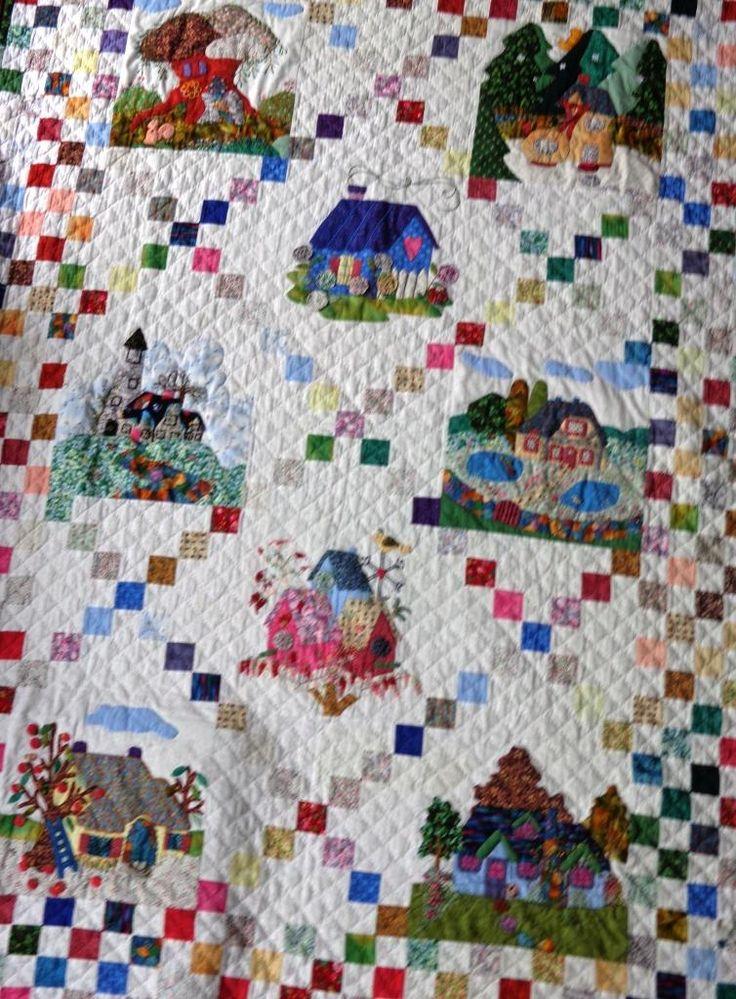 Cottages quilt