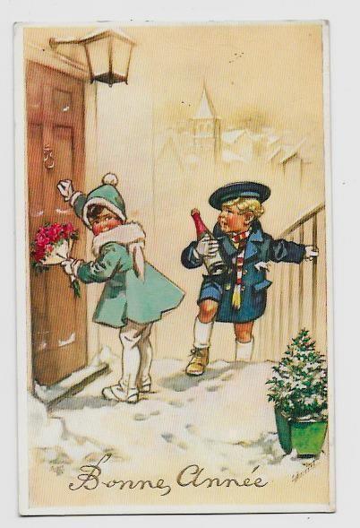 357 best images about jolies cartes anciennes de germaine bouret on pinterest belle livres - Belles images bonne annee ...