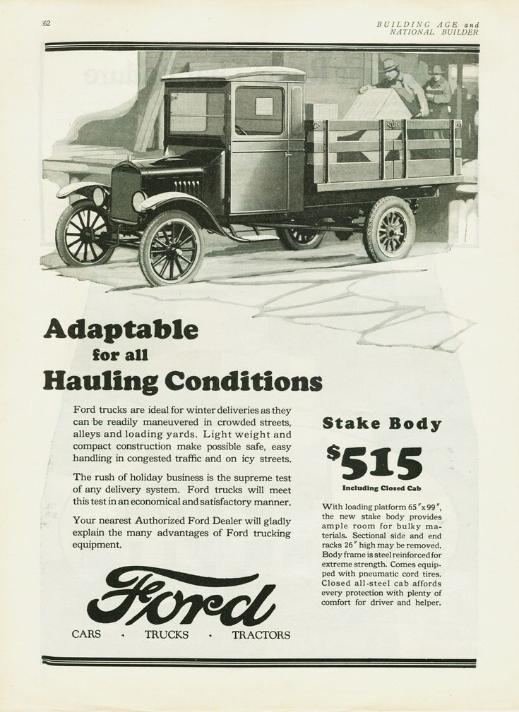 1926 Ford Truck Ad