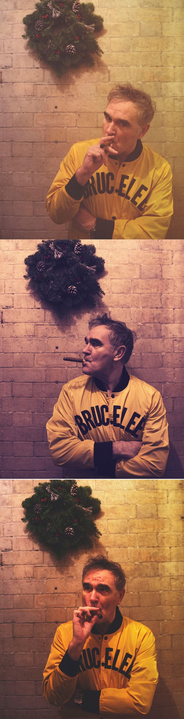 Morrissey (Christmas 2016) – photos by Sam Esty Rayner