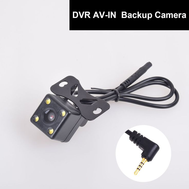 12-24V Auto Rear View Backup Camera 2.5mm AV-IN for Car DVR Camcorder Black Box Recorder Dash Cam Dual Recording Aux Stereo GPS Tablet Video Input. 12-24V Universal HD Car auto backup camera for DVR dash cam. Easy to install by 2 screws. With 4 constant on led night vision lights. Special backup camera design for your car DVR/Camcorder/GPS Tablet with AV-IN 2.5mm aux input port. NOTICE: Some DVR / GPS Tab only accept digital signals, and this camera is only compatible with the devices…