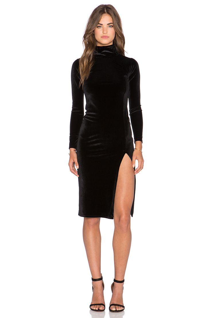 Rachel Pally Velvet Alba Dress in Black