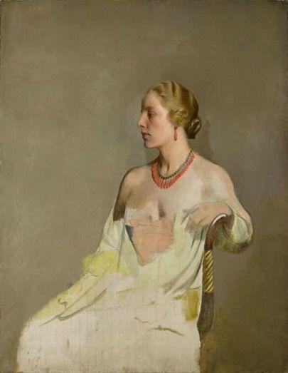 Gerald Festus Kelly, Portrait of Jane XIX (1919)
