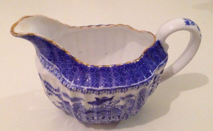 Copelands blue willow sugar bowl