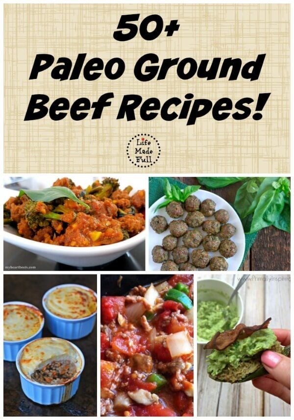 Eating Paleo on a budget takes some planning. I've put together a list of more than 50 Paleo ground beef recipes to help you keep eating healthy for less!